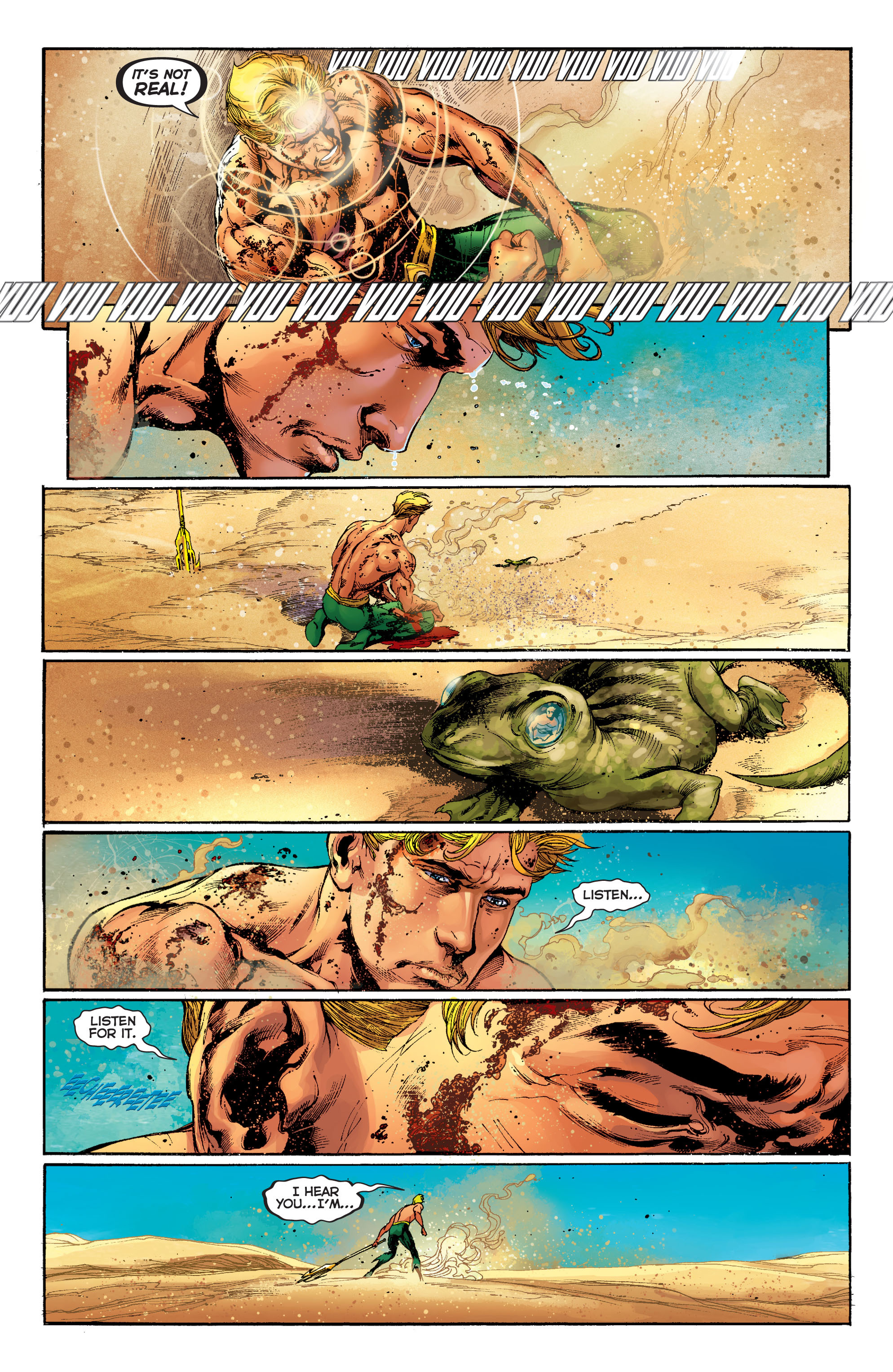 Read online Aquaman (2011) comic -  Issue #5 - 15