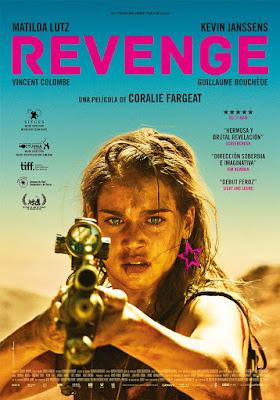 REVENGE - pelicula francesa poster