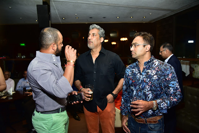 Cricketer Murali Kartik , Atul Wassan and Syed Saba Karim