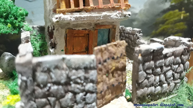 Diorama minyatür ev