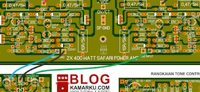 Cara BTL Power amplifier menjadi 2 Kali lipat Bertenaga