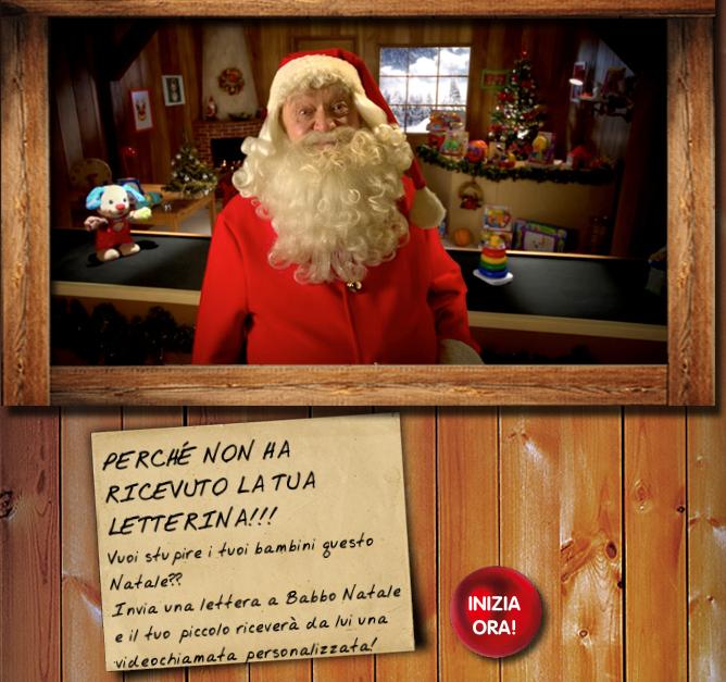 Videochiamata Babbo Natale.Telefonata Gratis Da Babbo Natale