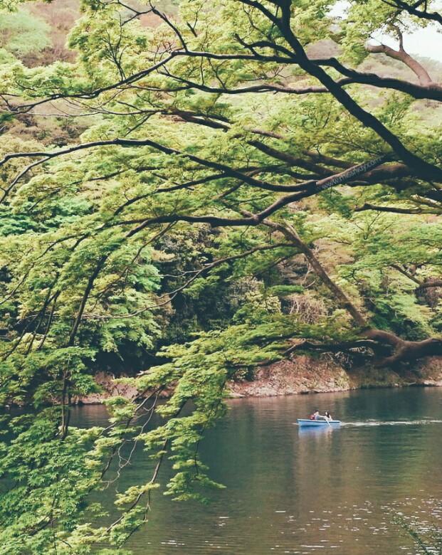 sewa perahu di arashiyama