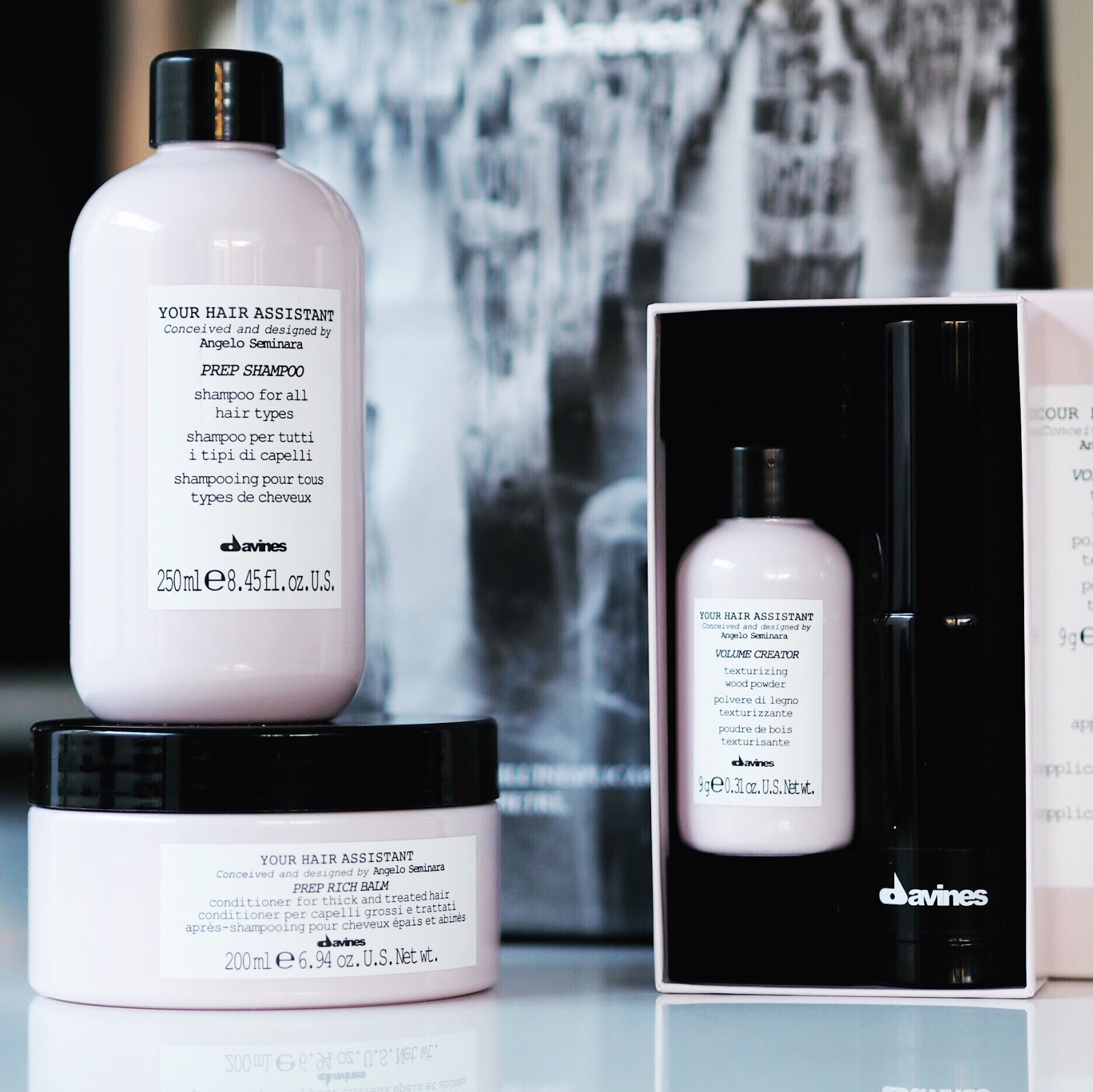 Bouncy Blow Dry And Davines Your Hair Assistant Products At