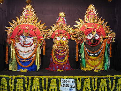 Adikia ( Tribikram ) Besha- Costume Of Lord Jagannath