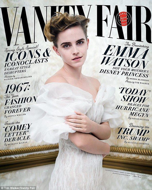 Emma Watson goes topless for her edgiest shoot ever!