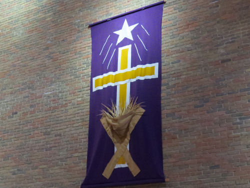 Manistee United Methodist Christmas banner