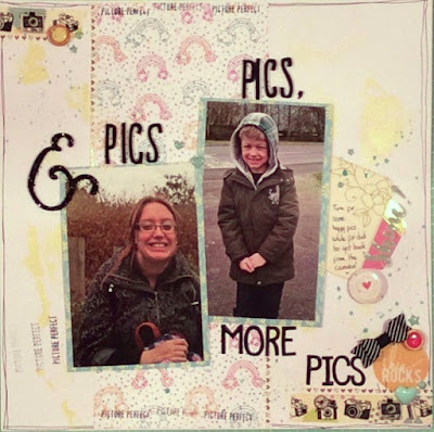 Pics, Pics & More Pics | Scrapbook Bex | Multiple Photos