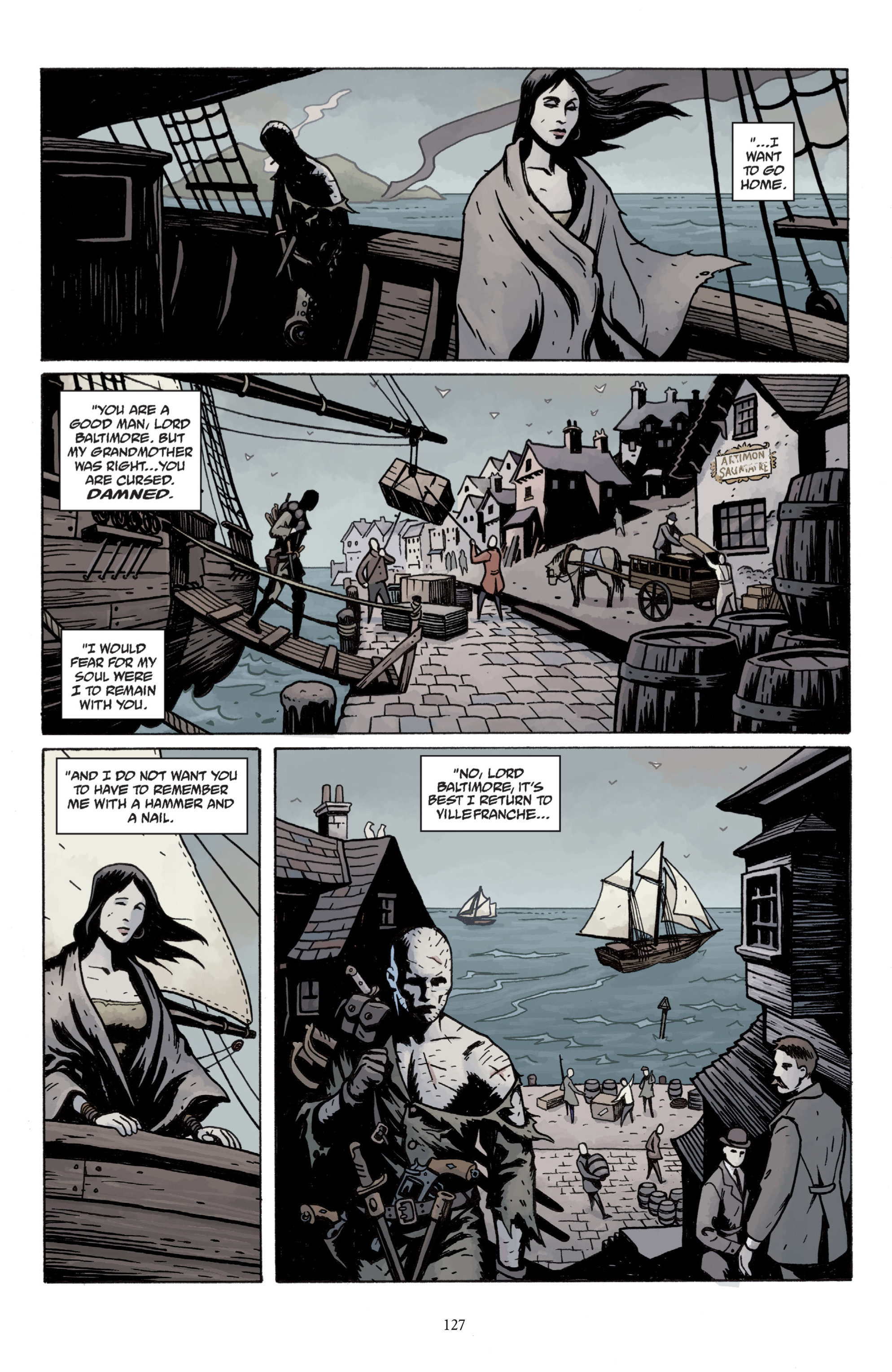 Read online Baltimore: The Plague Ships comic -  Issue # TPB - 126