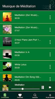 Musique de Méditation: La Mélodie du Bonheur Meditation%2BMusic%2BiPhone%2BScreenshot%2B1