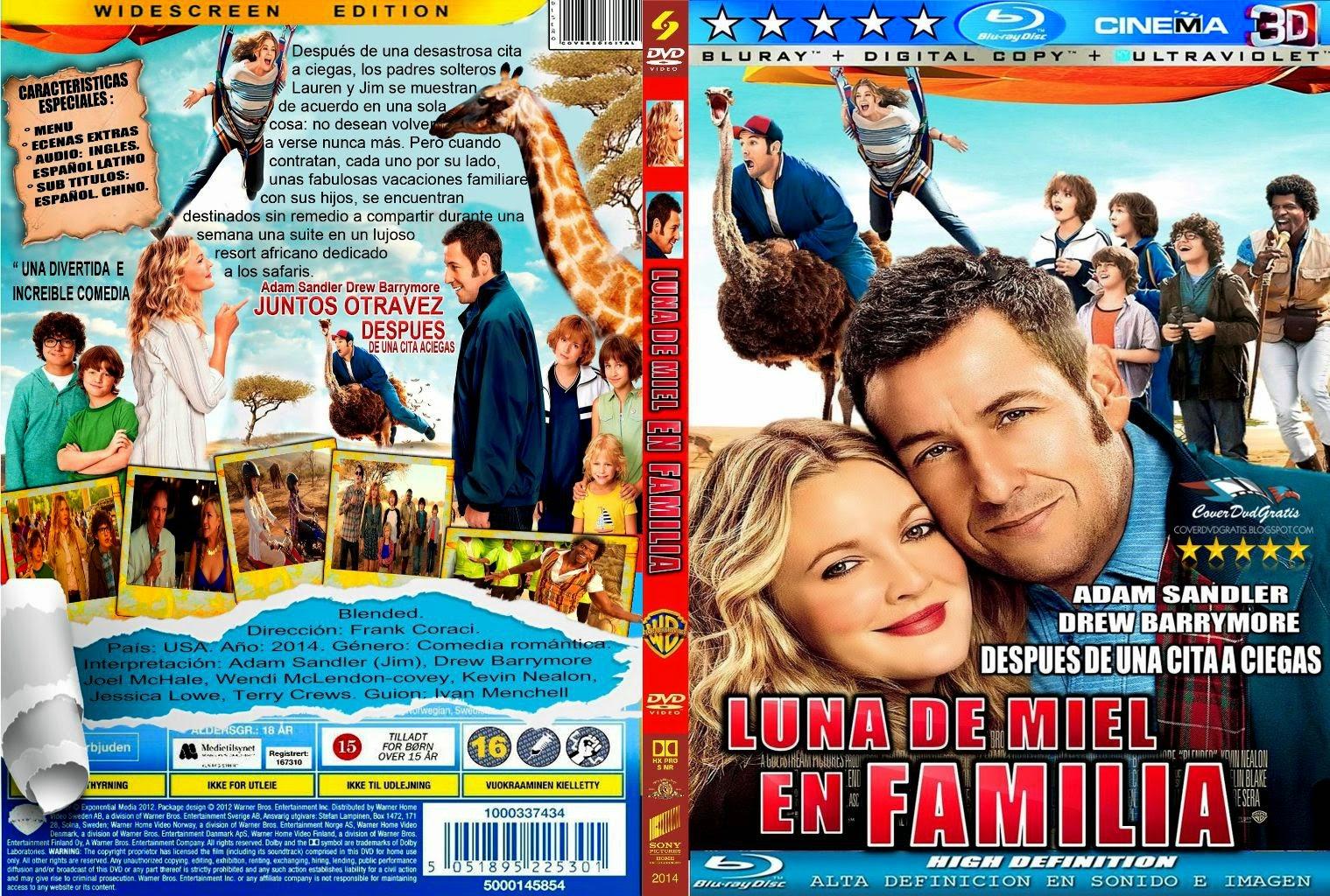 Luna de Miel en Familia (2014) HD 1080P LATINO MEGA