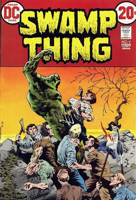 Swamp Thing #5, Bernie Wrightson cover