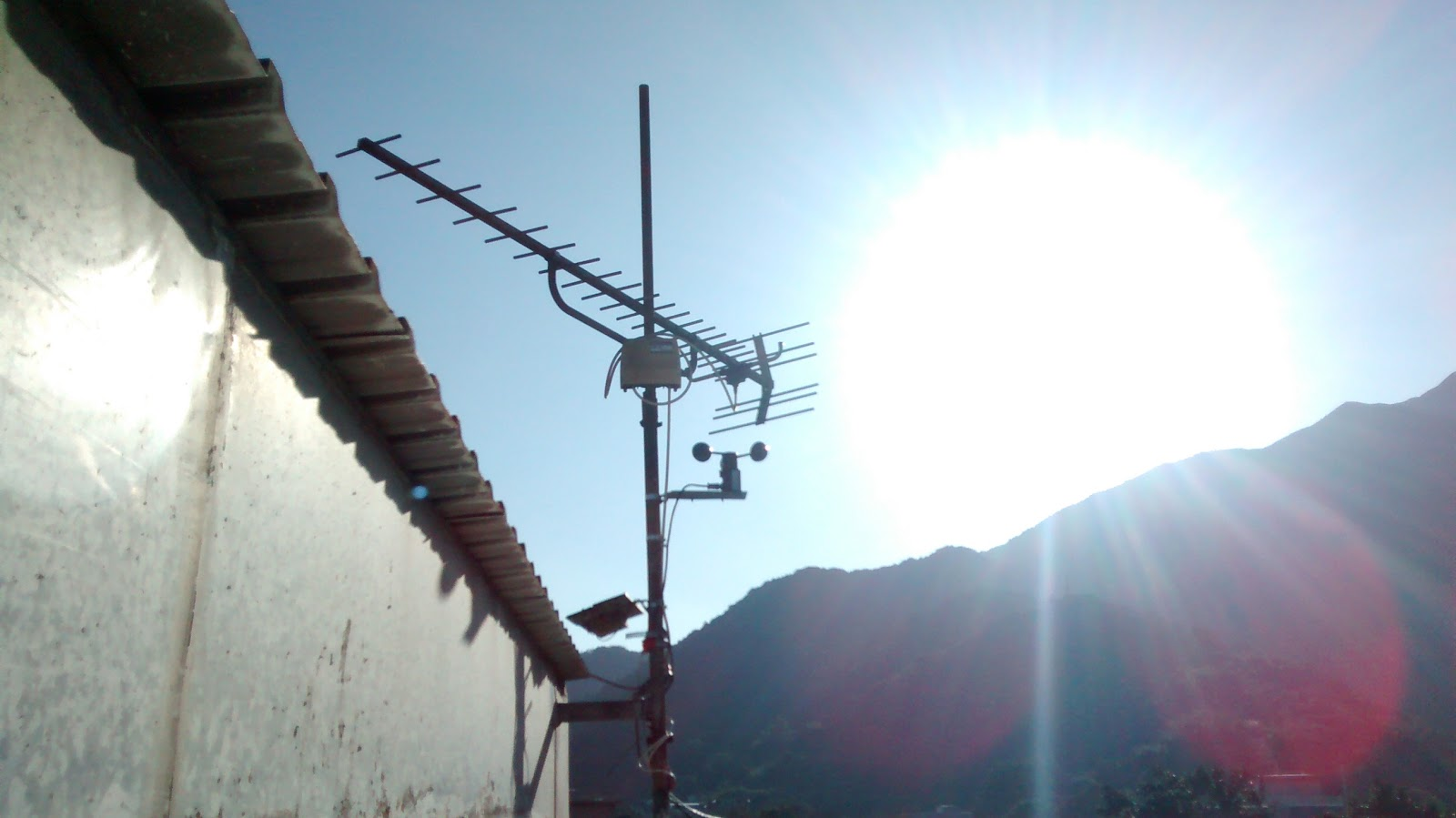 Wind sensor (anemometer) with pulse on Arduino | Lantau kilowatt counter