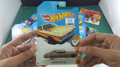 Hot Wheels Super Treasure Hunt 69 Chevelle SS 396