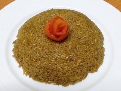 أرز الصيادية الأحمر