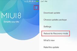 2 Cara Flashing ROM Resmi Xiaomi MIUI Official 100% Sukses