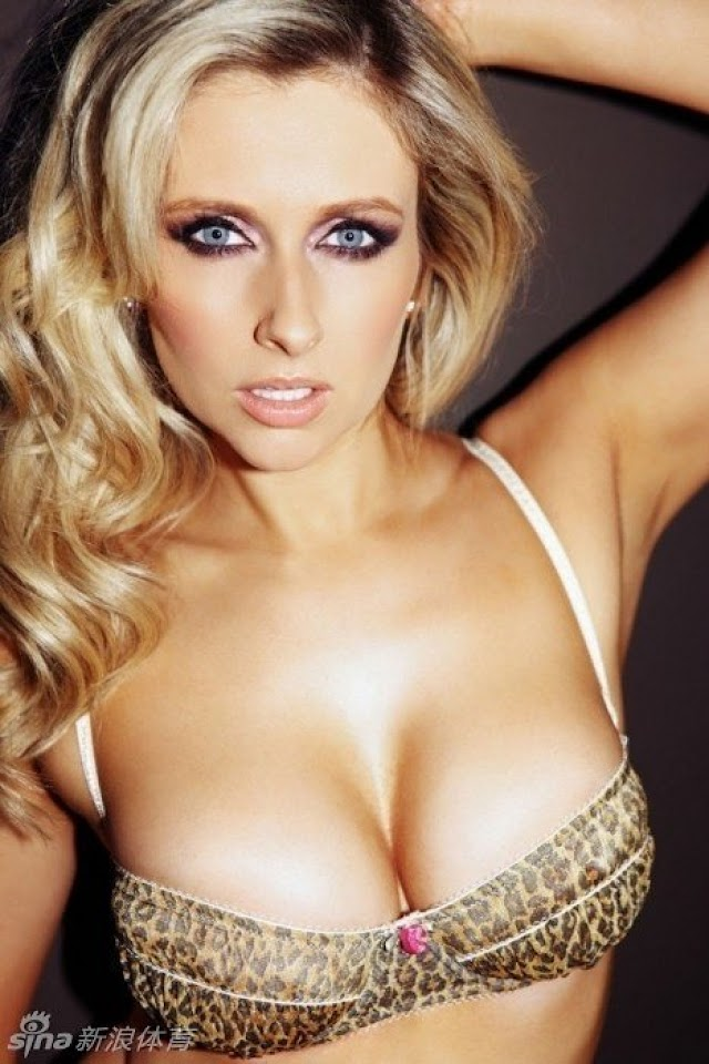 Gemma Merna Leopard Bra   Galaxy Note HD Wallpaper