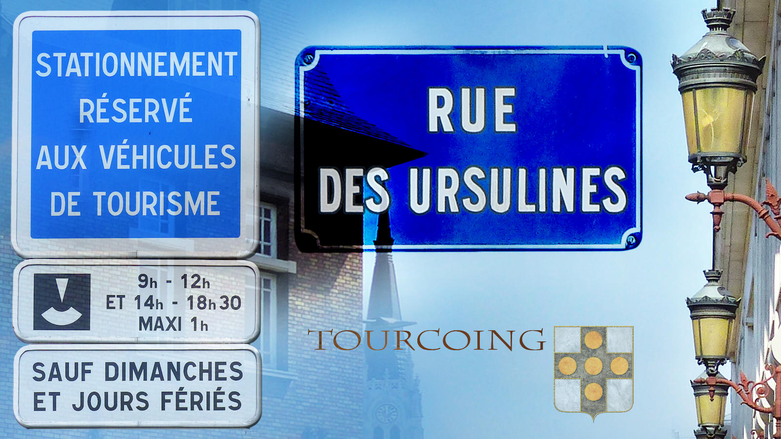 Rues Tourcoing - Stationnement Ursulines