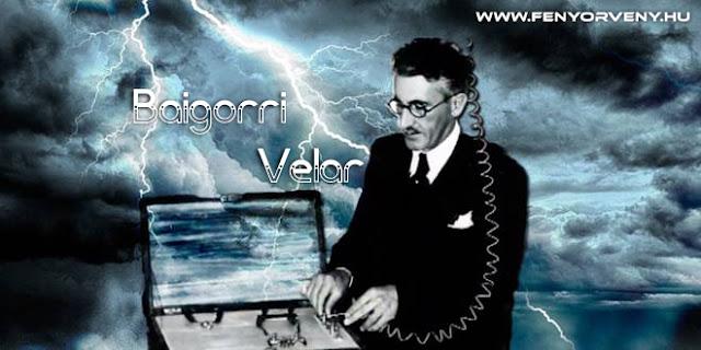 Baigorri Velar elfeledett esőcsináló gépe
