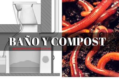 Este Diseño de Baño Seco se combina con lombriz roja para el vermicompostaje de los desechos
