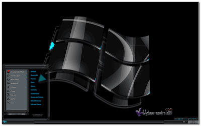 THEME WINDOWS 7 DARK GLASS ELEGANT