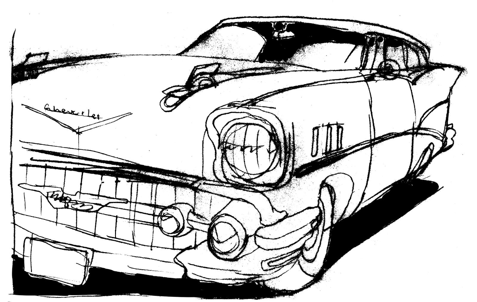 Don Moyer Sketchbook August