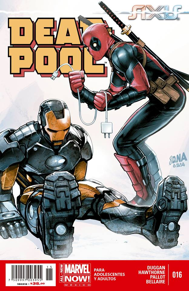 daily comics mexico deadpool 16 marvel comics m xico