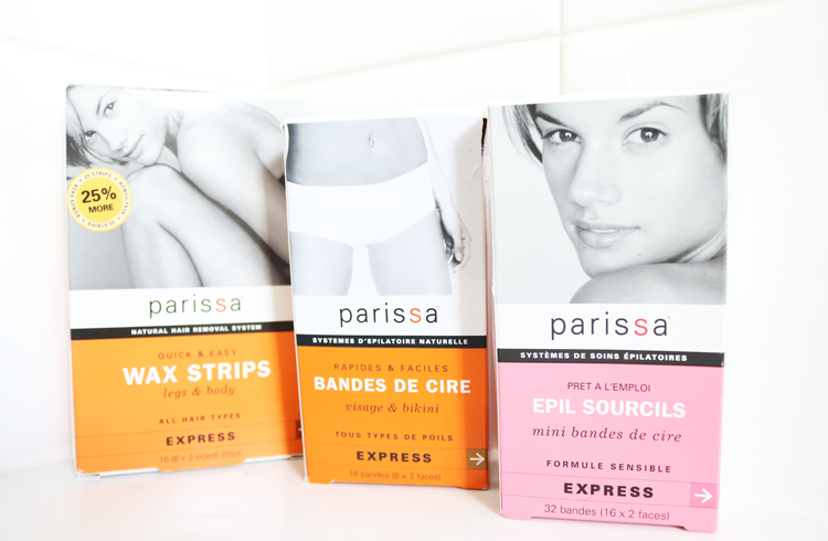 Parissa Legs & Body, Face & Bikini and Brow Shaper Wax Strips review