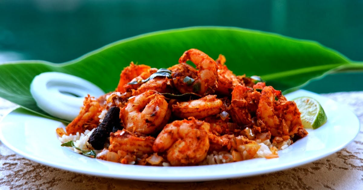 Leticia alaniz andhra prawn fry or royalla vepudu for Andhra cuisine history