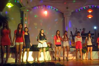 Nightlife girls dancing at Power-light Yangon