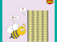 Tebak Gambar Lebah A diganti I Kain Batik T dihilangkan