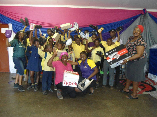 Benfarm Drop-In Centre - Children - Hollywoodbets Phalaborwa donation