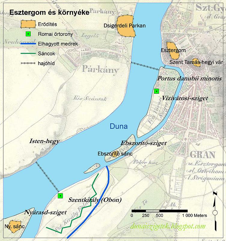magyarország szigetei térkép Dunai Szigetek: Kutyaszorítóban   Az esztergomi szigetek története magyarország szigetei térkép