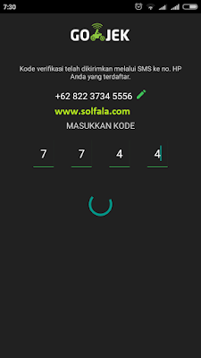 Cara Memesan Gojek Pertama Kali - Order Gojek