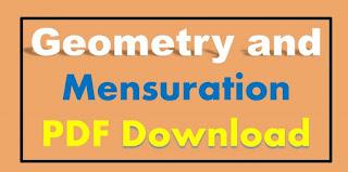 Geometry and Mensuration PDF Free Download