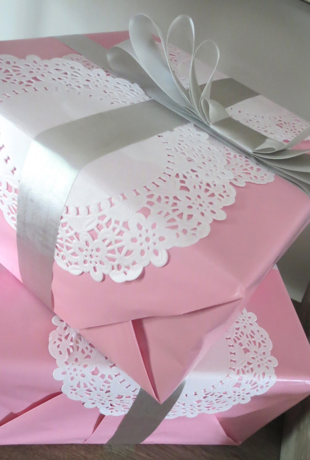 The Simple Craft Diaries Pink And Grey Baby Shower
