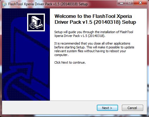 Cara Install USB Driver Sony Xperia Pada PC atau Laptop