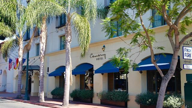 Canary Hotel em Santa Bárbara na Califórnia