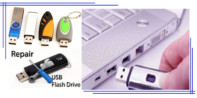 Cara Mudah Memperbaiki Flash Disk yang rusak