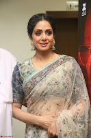 Sri Devi in designer saree stunning beauty at the launch of MOM movie Trailer~  Exclusive 144.JPG