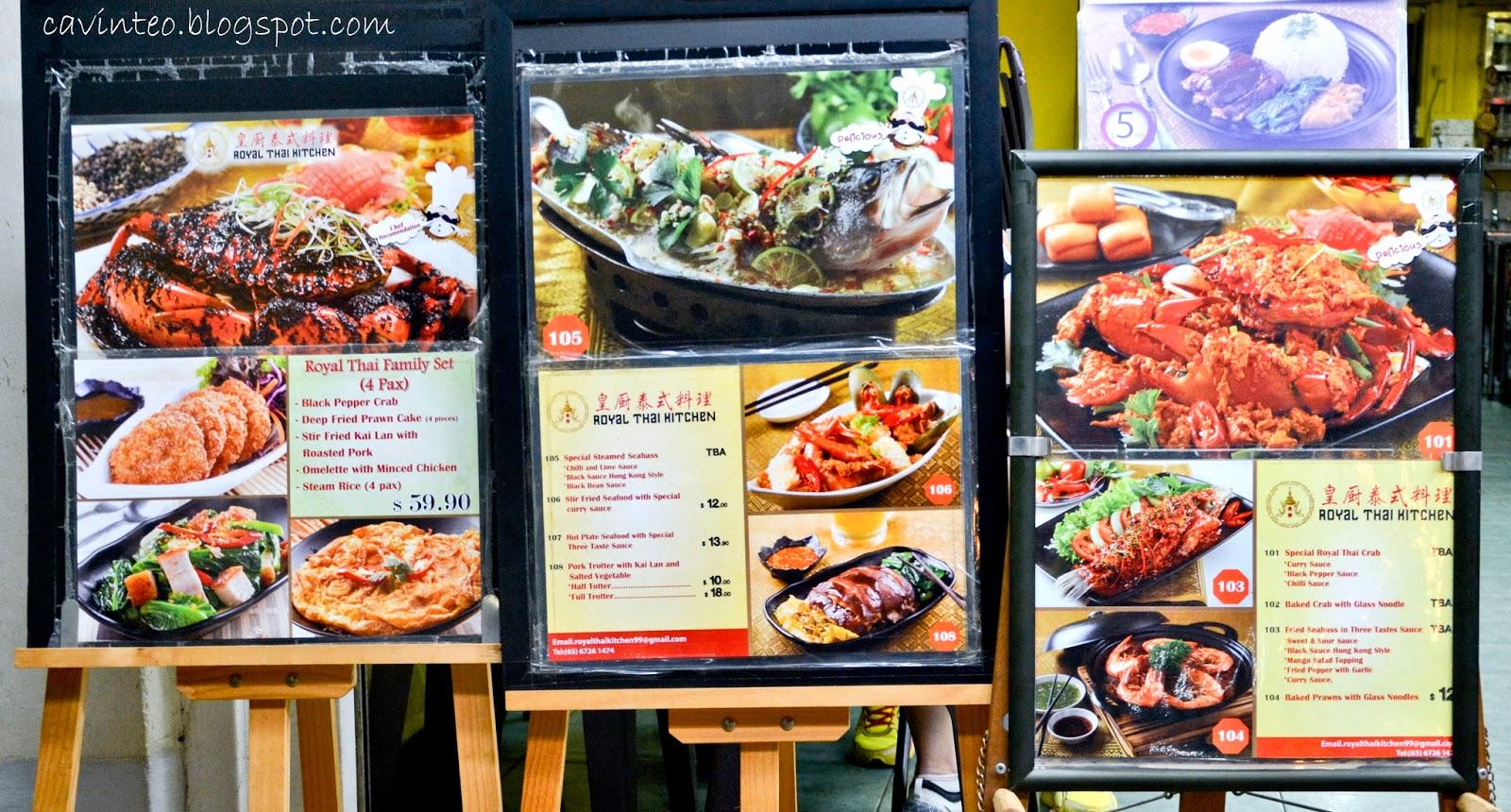Thai Kitchen Pocatello Menu