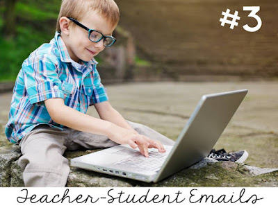 three ways to prevent the summer slide- setting up an email to communicate with students over the summer plus other ideas and a freebie suggestion page to send home to parents