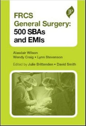MRCS Part A—500 SBAs and EMQs (2013) [PDF]