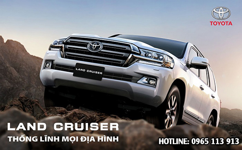 Toyota Land Cruiser Hải Phòng