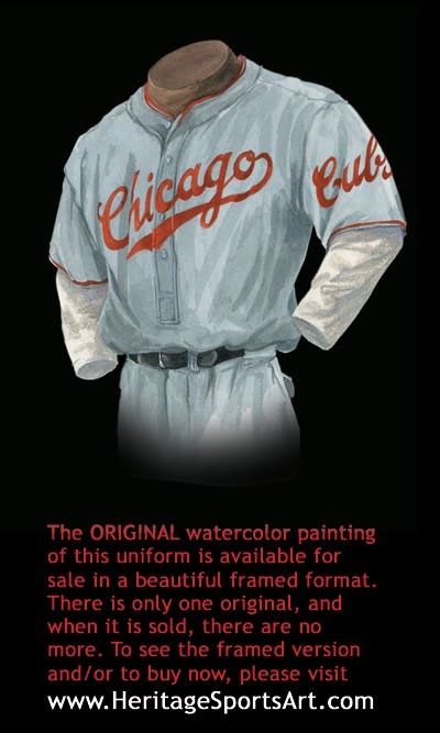 fa0c27c8633 Chicago Cubs Uniform and Team History