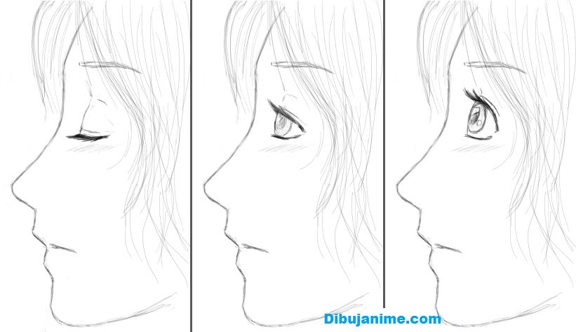 Como Dibujar Ojos Anime Femeninos Paso A Paso