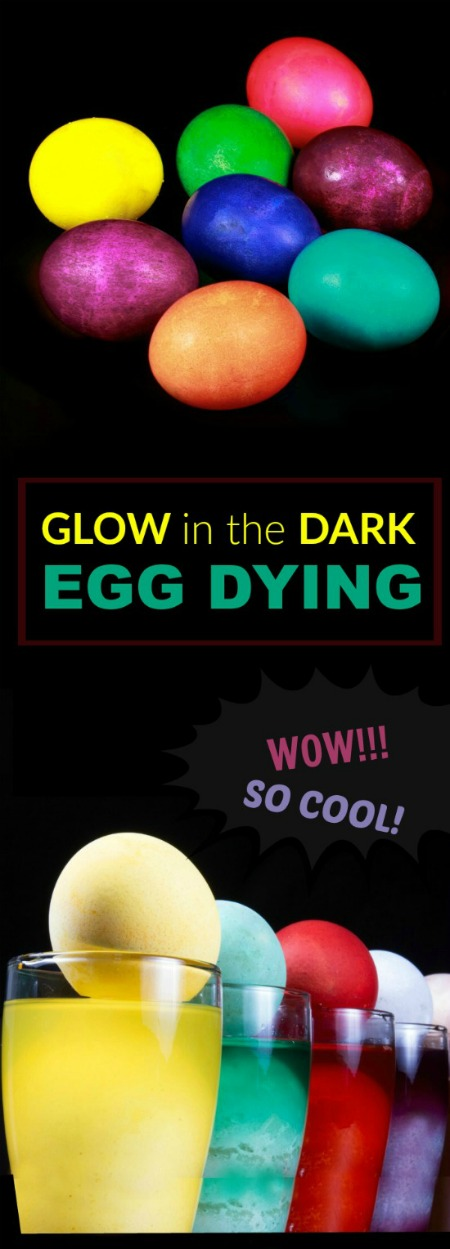EGG DYING FOR KIDS THAT POPS, FIZZLES, & GLOWS.  This is so cool!!!