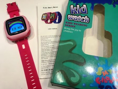 Cheertone Kids Smart Camera Watch with box and manual