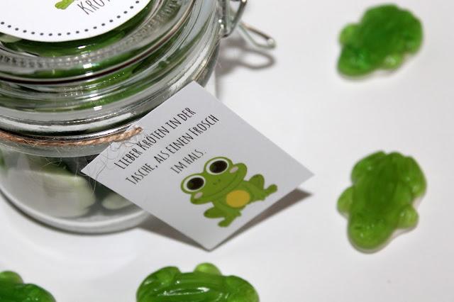 DIY, Basteln: Geschenke aus dem ein paar Kröten in Adventskalender, Mitbringsel, Geldgeschenke und Geschenkideen - DIYCarinchen