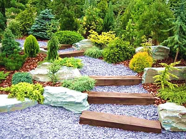 Expressive Rock Garden Ideas on Backyard Rock Garden Ideas id=25443